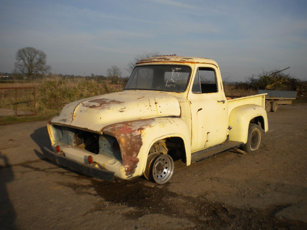 1953 Ford F100 Rolling shell
